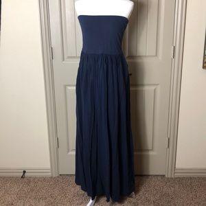 Like New Loft Strapless Maxi Dress